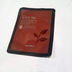 black tea mask